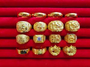 ฝันเห็นแหวนทองหลายวง